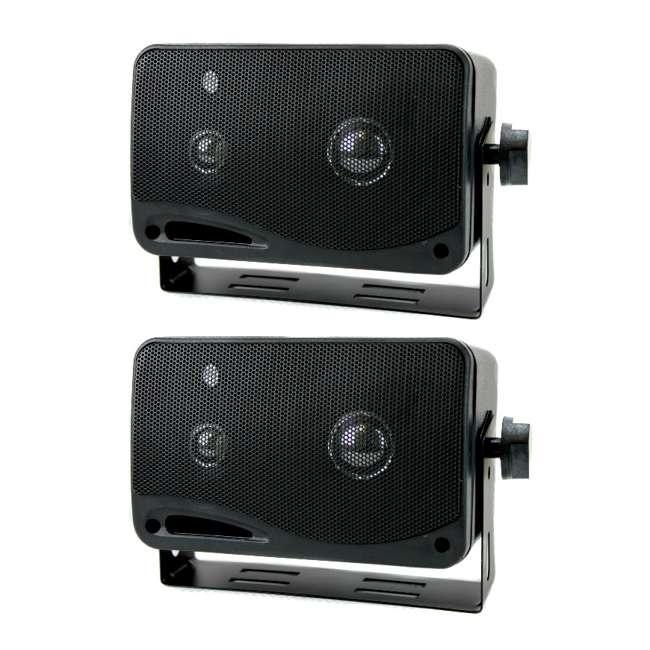 2022SX Pyramid 2022SX 3-Way 200W Mini Box Speakers (Pair)