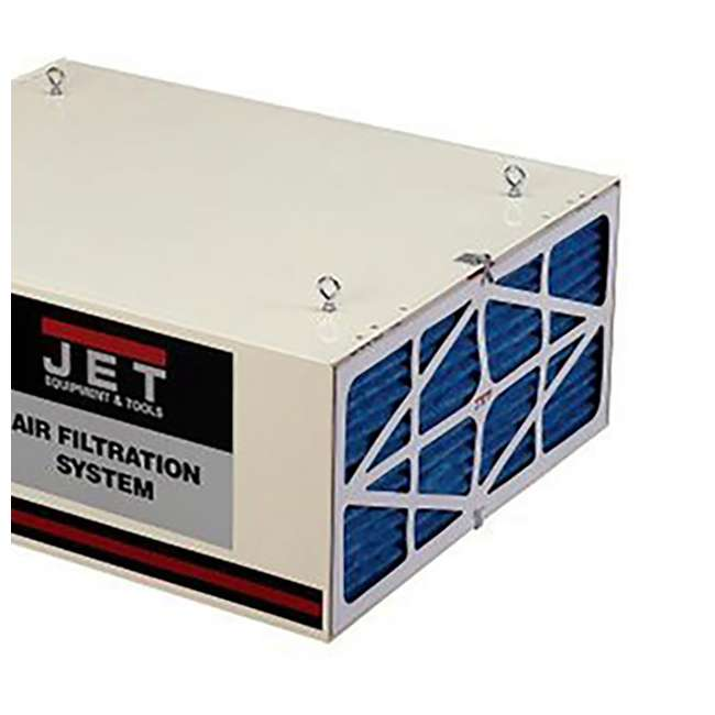JPW-708620B + JET-708732 + JET-708731 Jet Air Filtration System w/ Pleated and Washable Replacement Filters 7