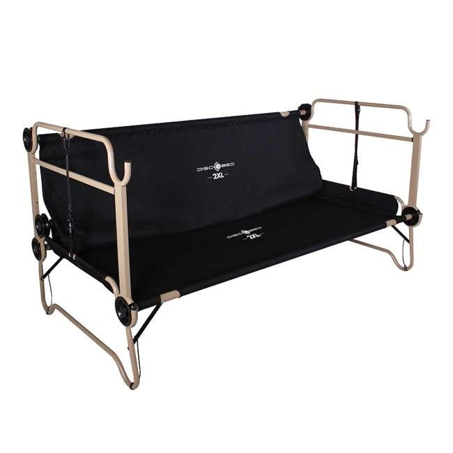 30507BO Disc-O-Bed 2XL Cam-O-Bunk Cot, Black (2 Pack) 5