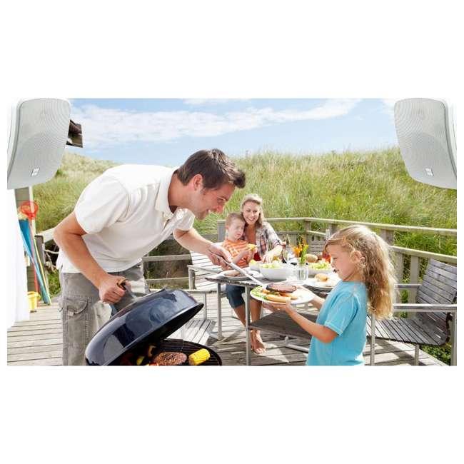 PDWR54BTW Pyle PDWR54BTW Bluetooth 600W Waterproof 5.25-Inch Powered Outdoor Speakers (Pair) 3