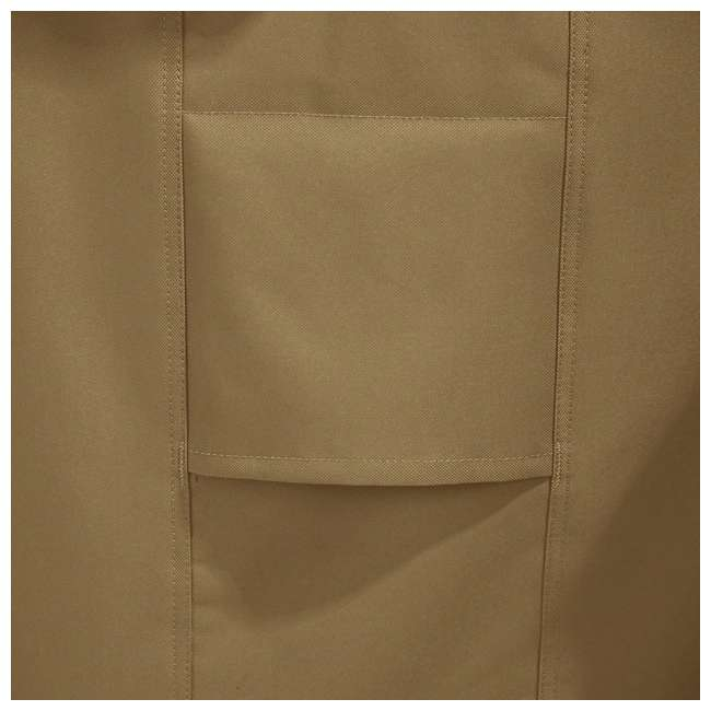 55-218-052401-EC Classic Accessories Hickory Heavy Duty Kamado Ceramic BBQ Grill Cover, X Large 4