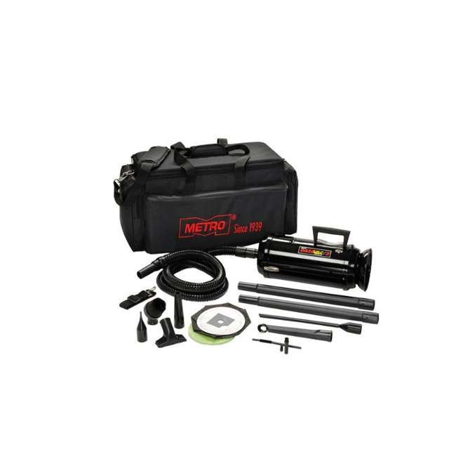 MDV-2TCAV MetroVac DataVac Pro Series Toner Vac and Micro Cleaning Tools with Carry Case