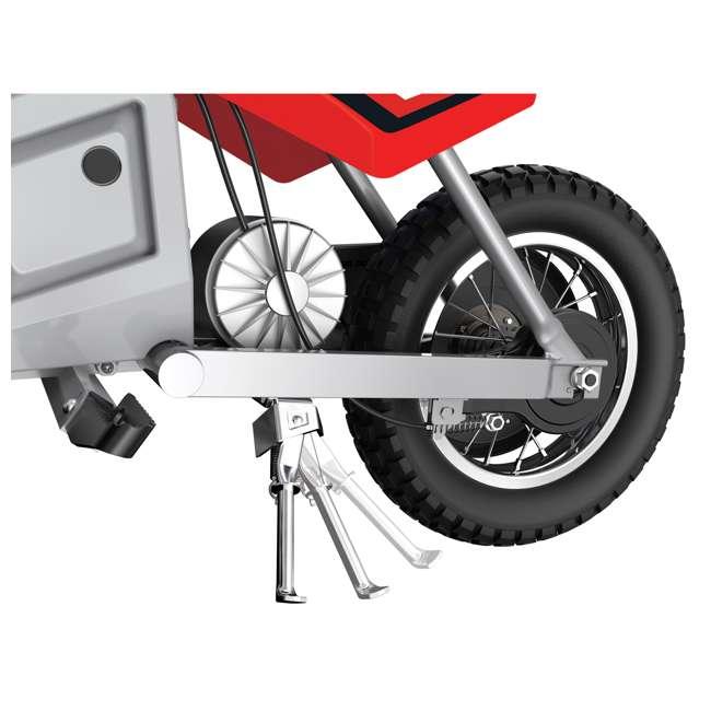 15128095 Razor MX350 Dirt Rocket Kids Electric Motorcycle, Red 6