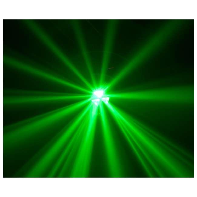 FALLOUT Chauvet Fallout 4 Ch. DMX Multi Colored LED Pro DJ Rotating Beam Effect Light 2