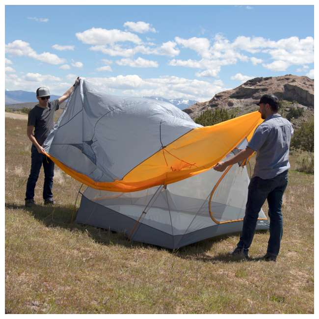 09M4OR01D Klymit 09M4OR01D Maxfield 4 Person 3 Season Lightweight Backpacking Camping Tent 7
