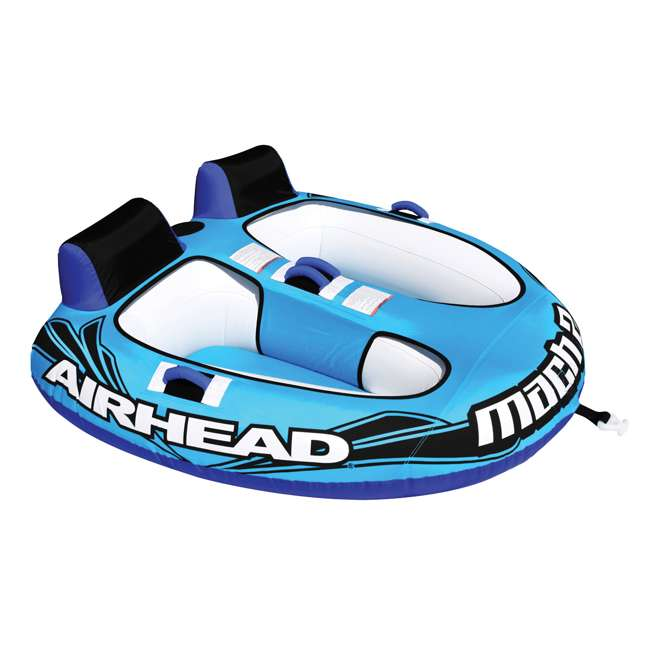 AHM2-2 Airhead Mach 2 Inflatable 2-Rider Water Towable Tube