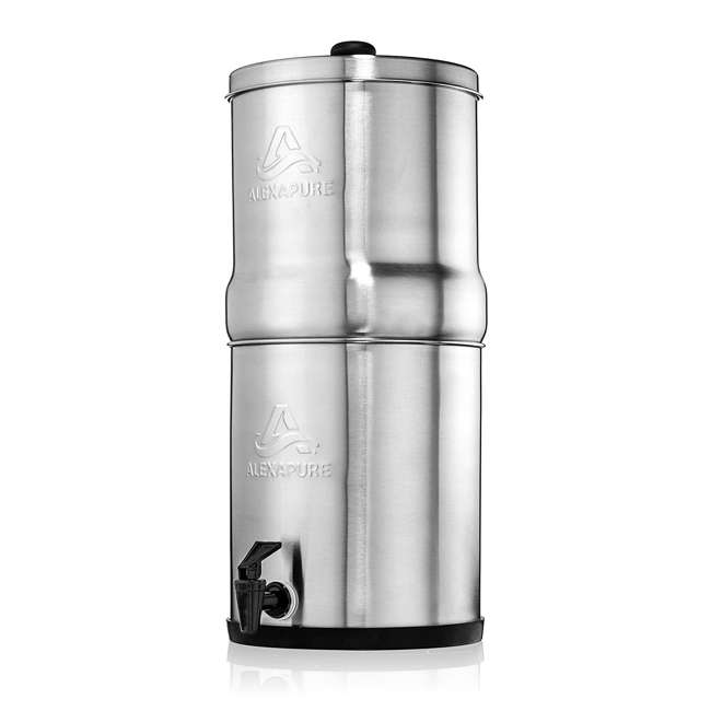 ALEXAPURE-2394 Alexapure Pro Stainless Steel Water Filtration System 5