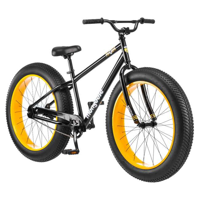 "R4140 + 102DN-R Mongoose 26"" Brutus Mens Alloy All Terrain Mountain Bike & 2 Bike Car Trunk Rack 3"