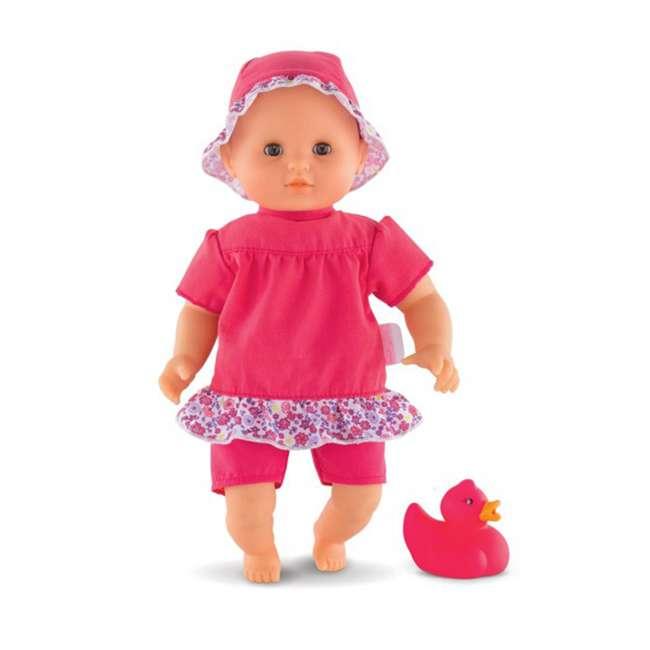 FRV09 + 100130 Corolle Mon Grand Poupon Toy Pediatrician Doctor Set w/ Waterproof Baby Doll 11