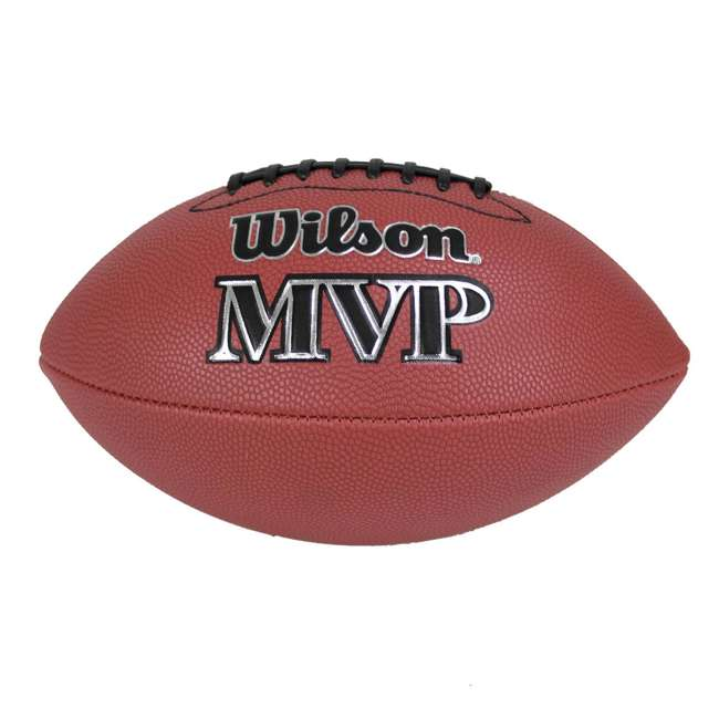 WTF1410ID Wilson MVP Junior Size Leather Football 1