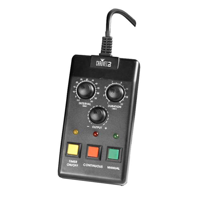 HURRICANE-HAZE2D + 2 x HFG-FLUID Chauvet DJ Hurricane Haze 2D Haze Machine w/ Remote + (2) Fluid Gallons 6