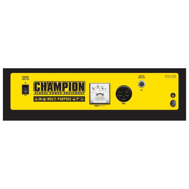 CPE-GN-42436-U-C Champion 1200 Watt Recoil Start Gas Powered Home & RV Generator (For Parts) 1