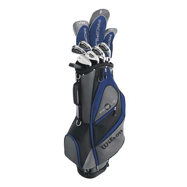 WGGC58200 Wilson Profile XD Men's Senior Right Handed Golf Club Set, Blue
