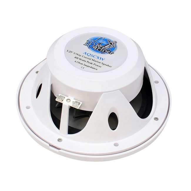 AQ5CXW Lanzar AQ5CXW 5.25-Inch 400 Watt Marine Speakers (Pair) 2