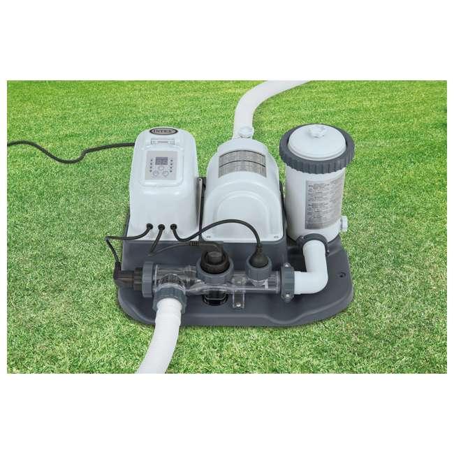 Intex 120v Krystal Clear Saltwater System Pool Chlorinator