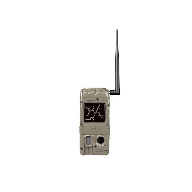 G-5079 + 2 x SD4-16GB-SAN +x3488GENIUSPTLMOUNT Cuddeback Power House Black Flash Trail Camera & 16GB Memory & Mount (2 Pack) 1