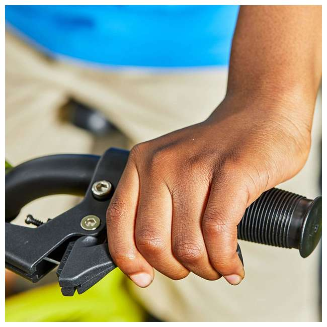 71828 Huffy Moto X 16 Inch Age 4-6 Kids Bike Bicycle with Training Wheels, Yellow 3