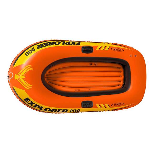 4 x 58356WL-U-A Intex Explorer Pro Youth Boat Raft (Oars/Pump Not Included) (Open Box) (2 Pack) 1