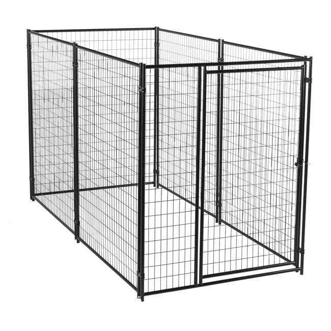 CL 66150 Lucky Dog Large Modular Welded Wire Box Indoor/Outdoor Kennel 10'x5'x6' (2 Pack) 2