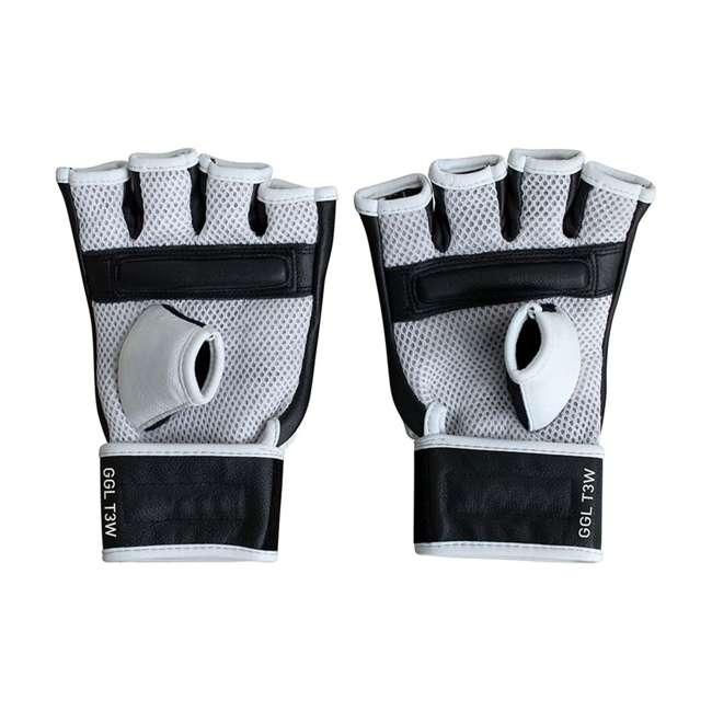 GGL-T3W-L RDX T3 MMA Gel Padded Combat Grappling Gloves, Large 1