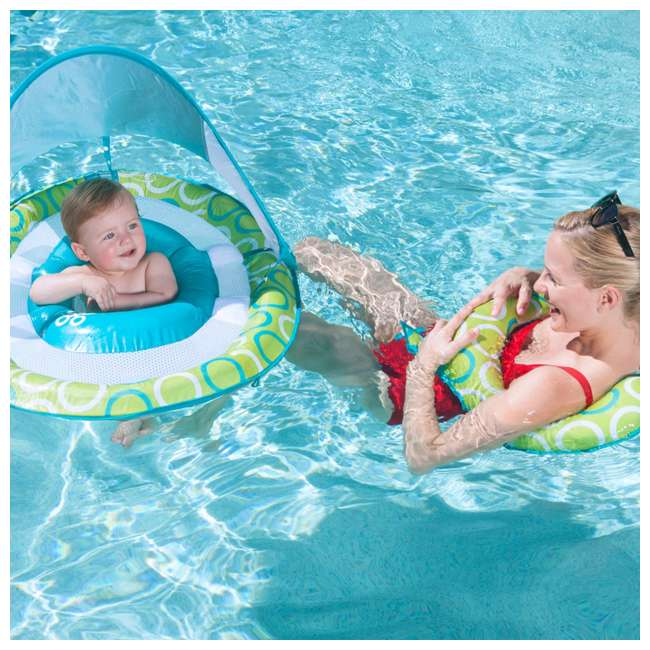 6038673-SW Swimways Mommy and Me Spring Float with Canopy 1
