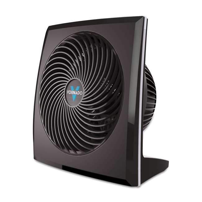 VOR-673-U-B Vornado Portable Medium Quiet Control Flat Panel Air Circulator Floor Fan (Used)