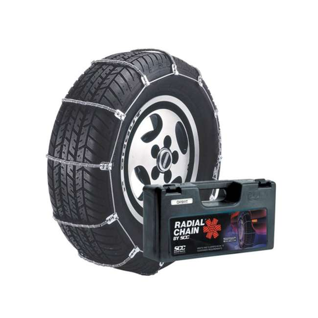 SC1032-U-A Radial Chain Cable Traction Grip Tire Snow Passenger Car Chain Set (Open Box) 1