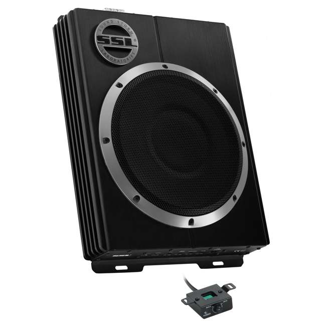 LOPRO8 Soundstorm LOPRO8 8-Inch 600W UnderSeat Powered Subwoofer