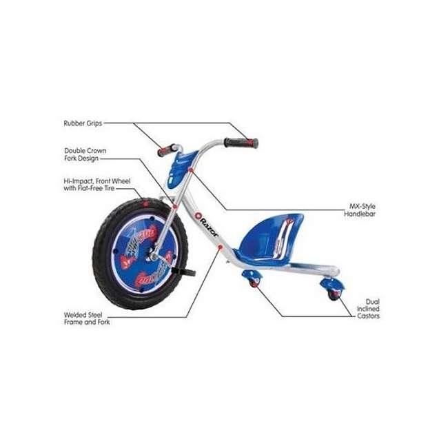 20036542 + 97778 Razor Rip Rider 360 Tricycle & Youth Sport Helmet 2