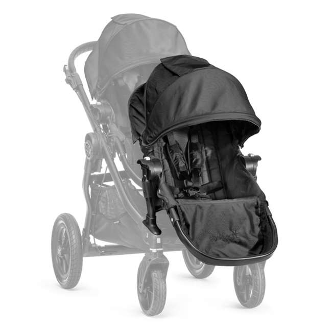 BJ03410 Baby Jogger City Select Stroller Second Seat Kit, Black 1