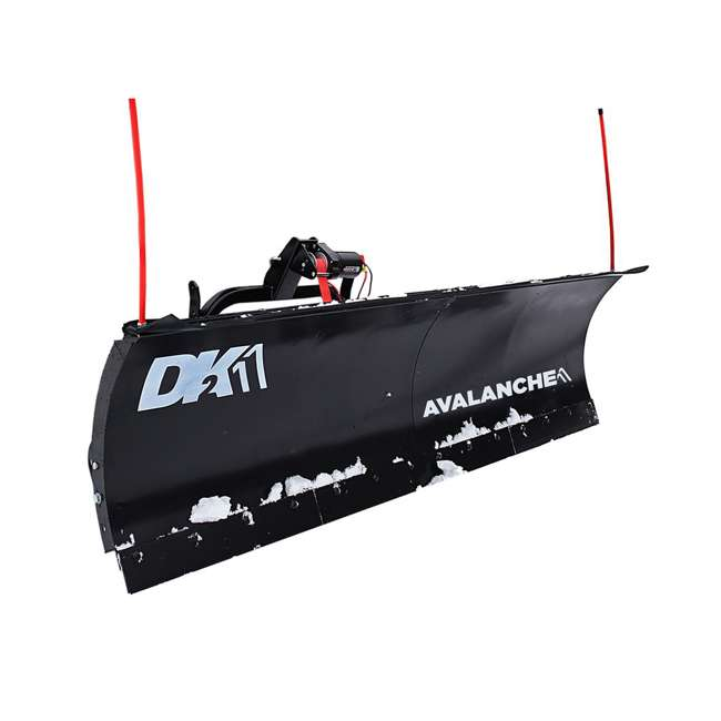 AVAL8422 DK2 Avalanche AVAL8422 Universal Snow Plow Kit 84 x 19 x 2 Inch Receiver Mount