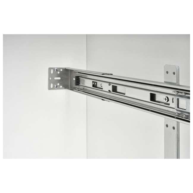 5CW2-2122-CR Rev-A-Shelf 5CW2 Series 21 Inch 2 Tier Wire Organizer for Cookware, Chrome 3