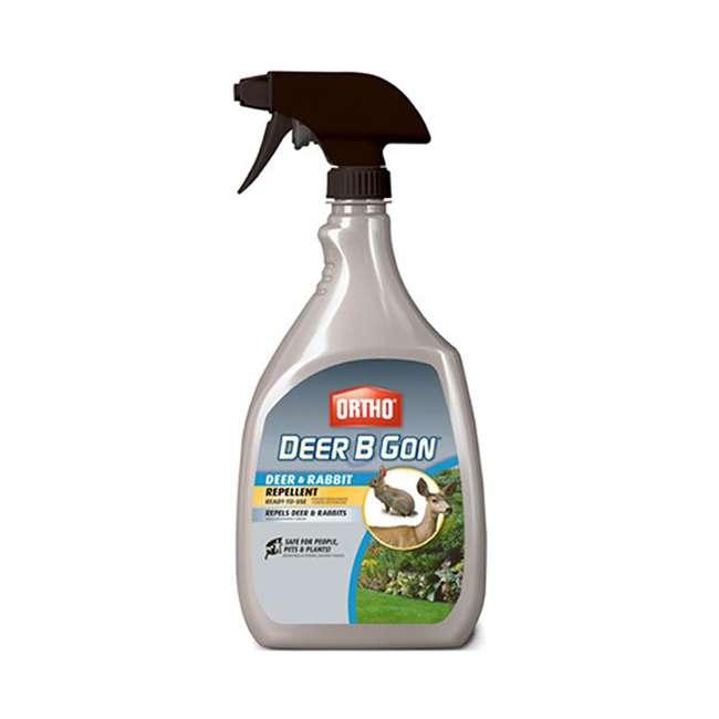 6 x SCT-48901005 Ortho Deer-B-Gon Deer & Rabbit Repellent, 24 Ounces (6 Pack) 1