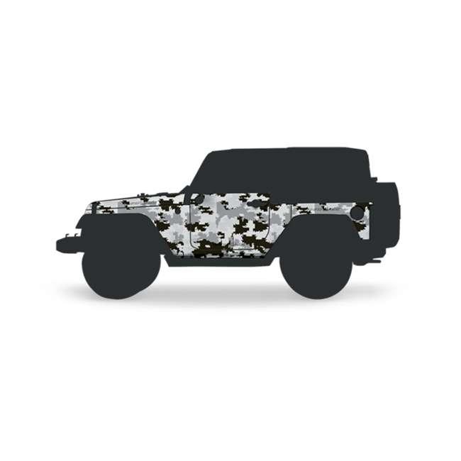 JPJKW2D-DIGI Rhinohide Jeep Wrangler JK 2x4 2-Door Magnetic Body Armor Panels, Digi Camo