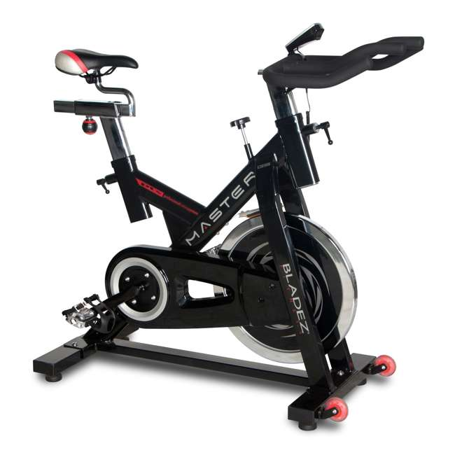MASTER GS Bladez Master GS LED Console Adjustable Seat Racing Design Stationary Bike 2