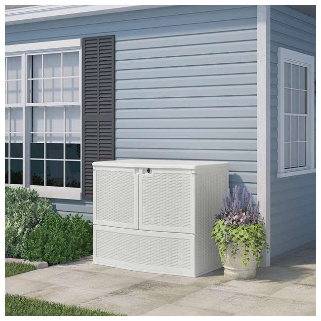 VDB19500WSD 195 Gallon Backyard Oasis® Storage and Entertaining Station with Shelf 1