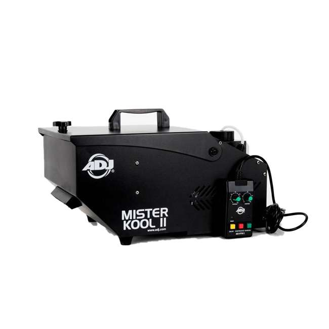 MISTER-KOOL-II-BLACK + 2 x BLACK-24BLB American DJ Mister Kool II Smoke Fog Machine & 24 Inch 20W Black Light (2 Pack) 1