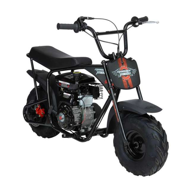 MM-B80B-BR Monster Moto 80cc Gas-Powered Off-Road Mini Dirt Bike  1
