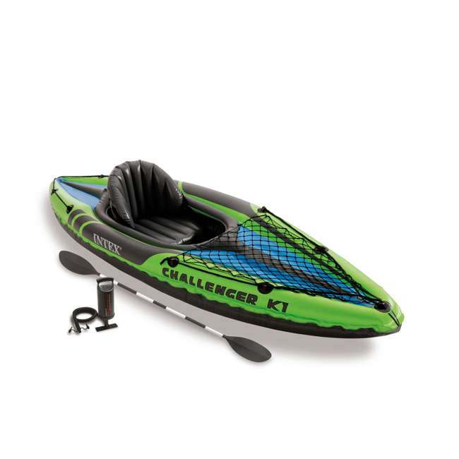68305EP + NRS_40034_01_104 Intex Kayak Set & NRS Vapor Adult L/XL PFD Life Vest 1