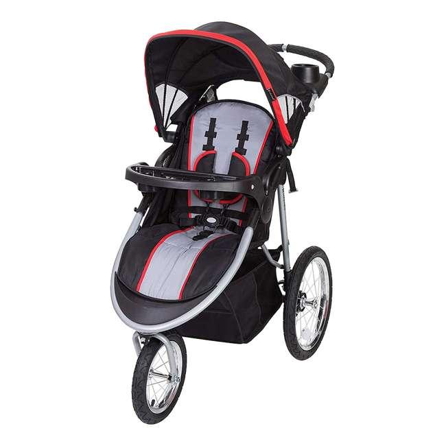 JG75B47A Baby Trend Cityscape Infant Safe Lightweight Sporty Jogger Stroller, Jolt Red
