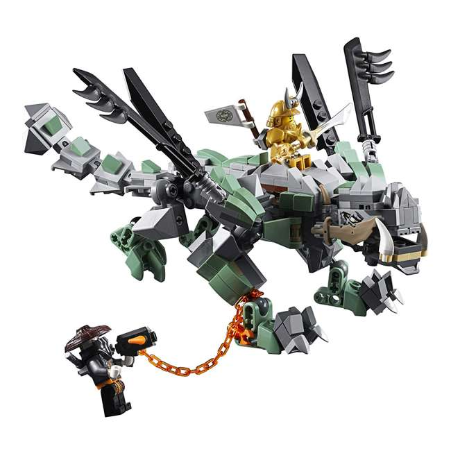 6212703-U-A LEGO NINJAGO Dragon Pit 1660 Piece Castle Set 9 Minifigure Characters (Open Box) 4