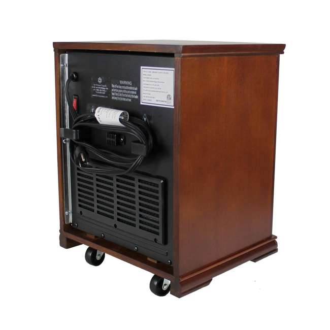 LS-1001HH LifeSmart LifePro 4 Element Infrared Electric Heater 5
