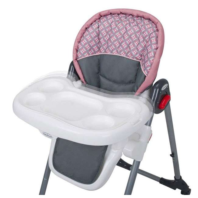 HC00999 Baby Trend HC00999 Trend Giselle Infant Folding High Chair, Pink 40 Pounds 1