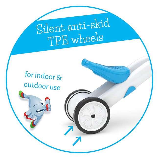 CPBN02BLU Chillafish CPBN02BLU Bunzi Childrens Gradual Balance 2 in 1 Tricycle Bike, Blue 6
