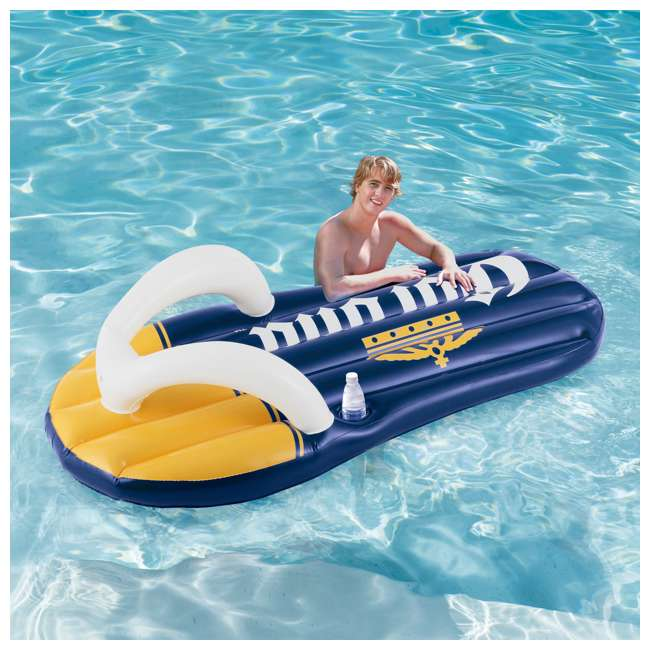P20014482167 + K70927E00167 + KF0226B00167 14 Foot x 48 Inch Regular Frame Pool & Corona Flip-Flop Floats & Corona Cooler 7
