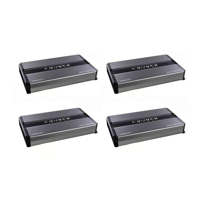 4 x PD2100.1 Crunch Power Drive PD2100.1 2100W Monoblock Class A/B Amplifier (4 Pack)