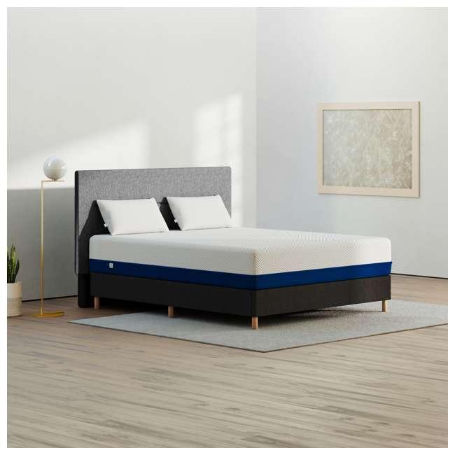 AS4-K Amerisleep AS4 Medium Softness Bio Core Plush Foam King Size Mattress, White 3
