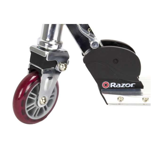 13003A2-RD Razor A2 Aluminum Kick Scooter Boys/Girls (Red) 4