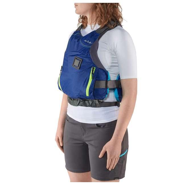 NRS_40036_02_101 NRS Women's Siren PFD Life Jacket, Teal, XS/Medium 3