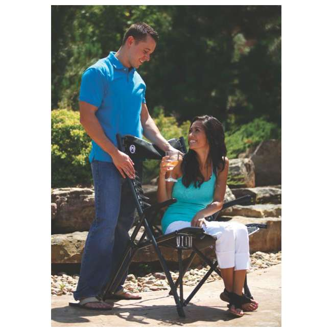 2000020292 Coleman Comfortsmart Suspension Camping Chair w/ Mesh Back & Bag | 2000020292 7